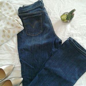 12L Levi's 515 boot cut jeans